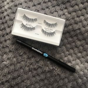 Ardell Magnetic Wispies & Jonteblu eyeliner pencil